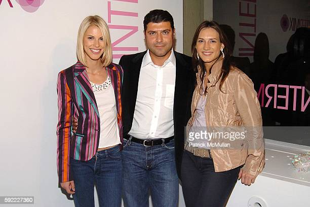 Petrina Khashoggi Haro Keledjian and Zani Gugelmann attend INTERMIX New York Flagship Store Opening at Intermix on September 28 2005 in New York City
