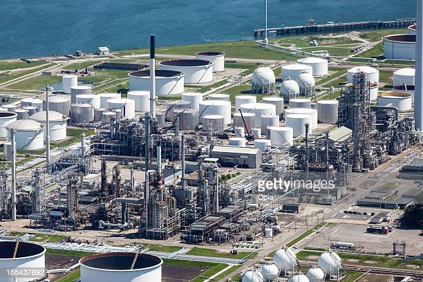 Petrochemical industry aerial