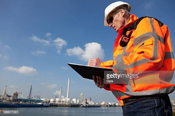 Petrochemical industry inspector