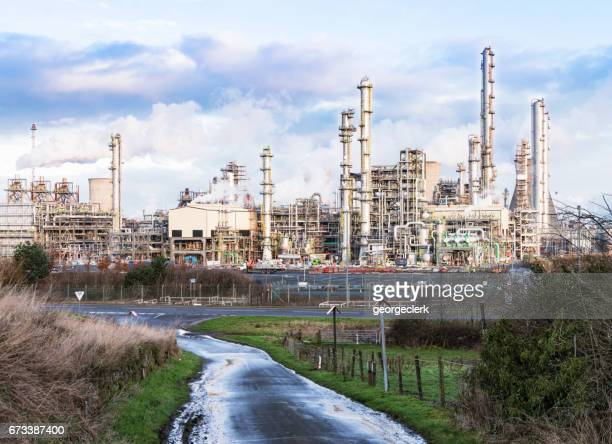 Petrochemical plant in context