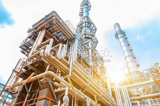 Petrochemical Refinery oil and gas industry : Photo