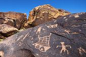 Anasazi Ridge Petroglyphs , St. George, Utah