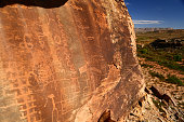 remote ruins and petroglyphs of the deserts of our national monuments
