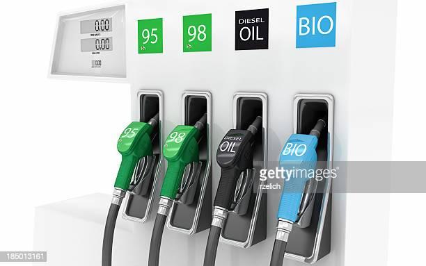 Tankstelle pump