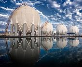 Petroleum area Storage Tanks port