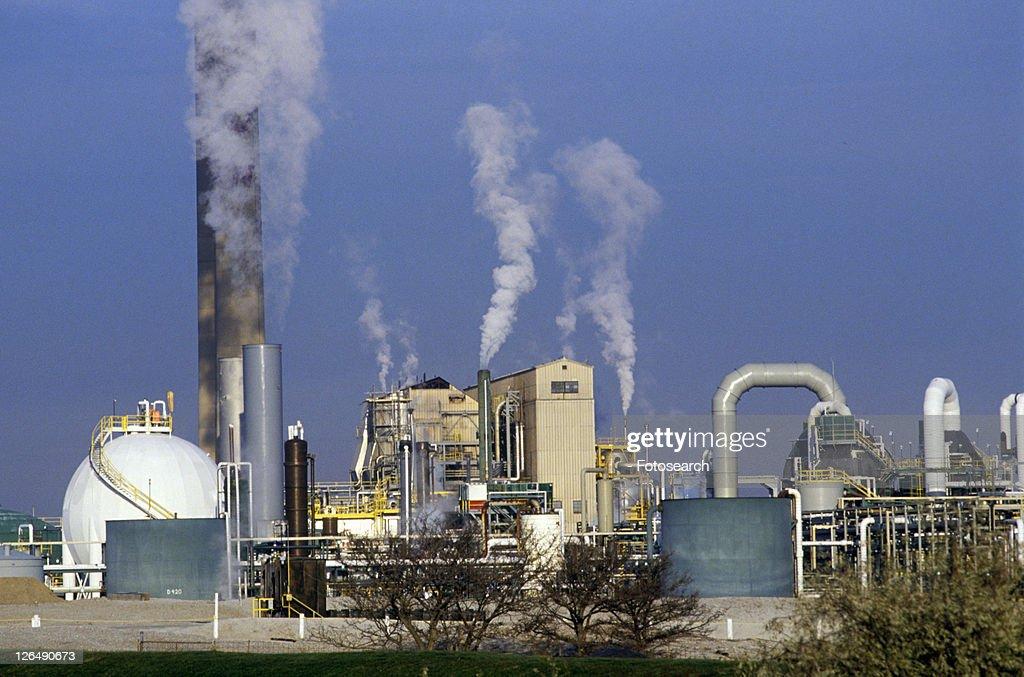Petroleum Processing Plant : Stock Photo