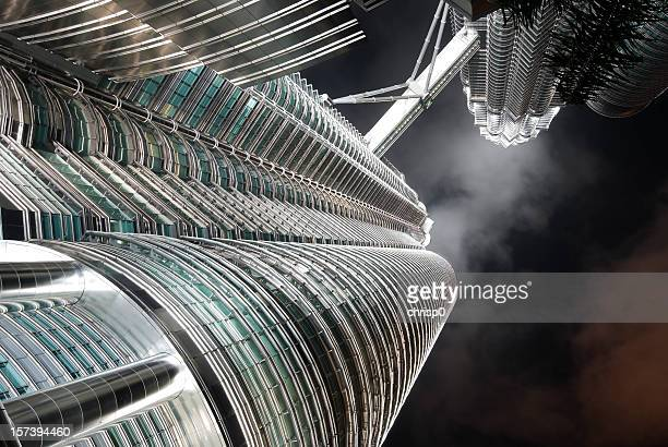 Petronas Towers Abstract View