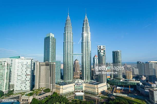 Petronas Towers and KLCC