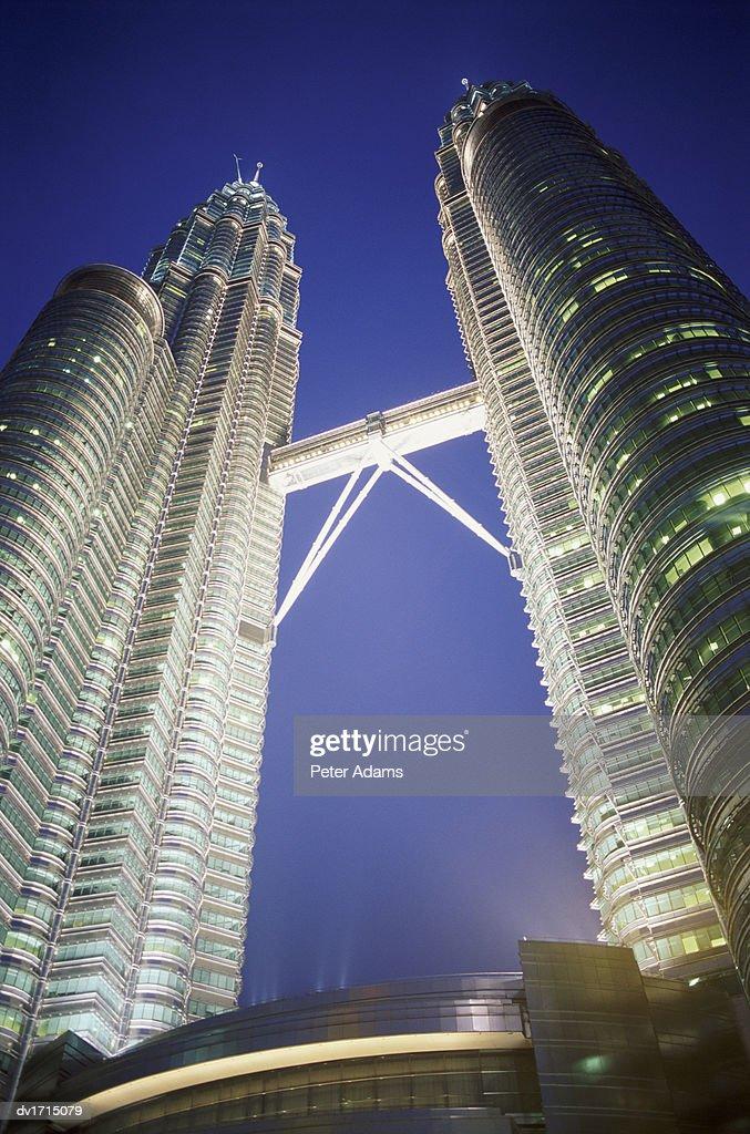 Petronas Towers, Kuala Lumpur, Malaysia : Stock Photo
