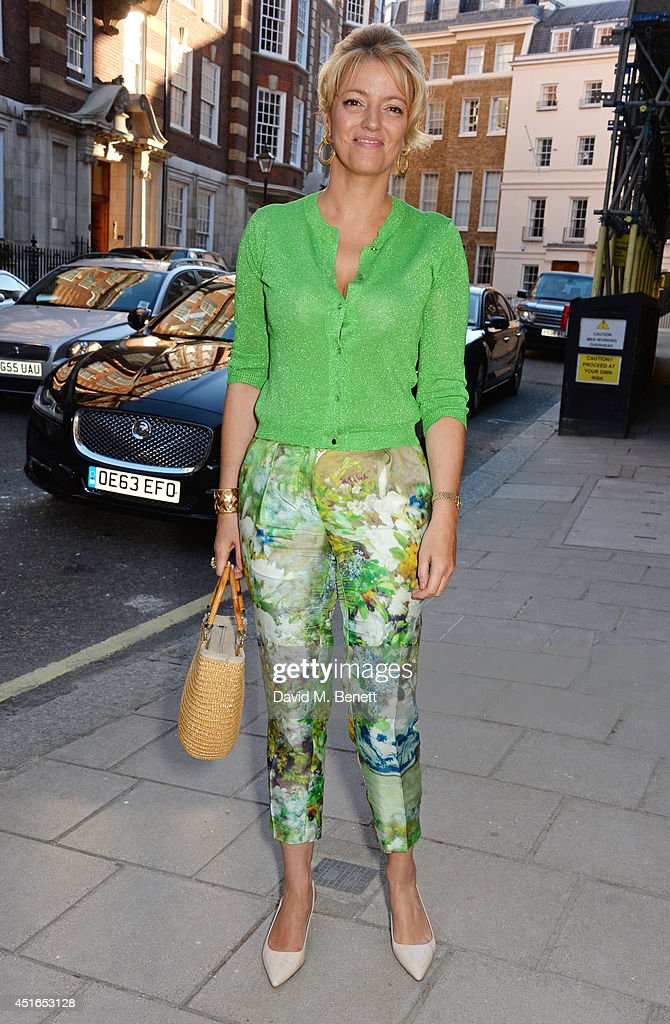 Petronella Wyatt attends The Spectator Summer Party at Spectator House on July 3, 2014 in London, England.