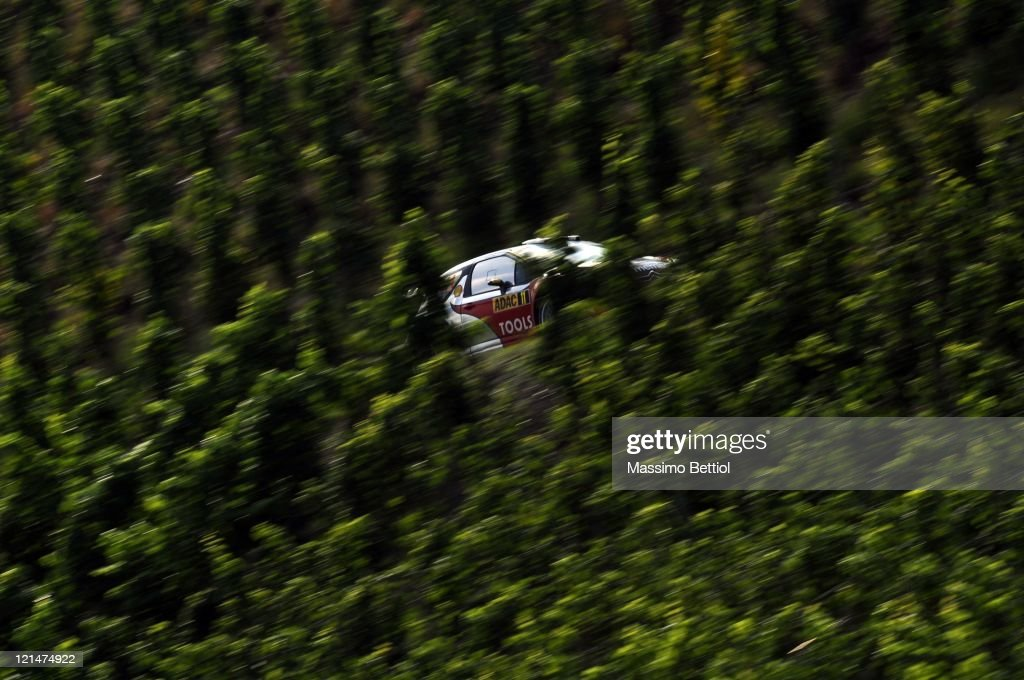 FIA World Rally Championship Germany - Day One