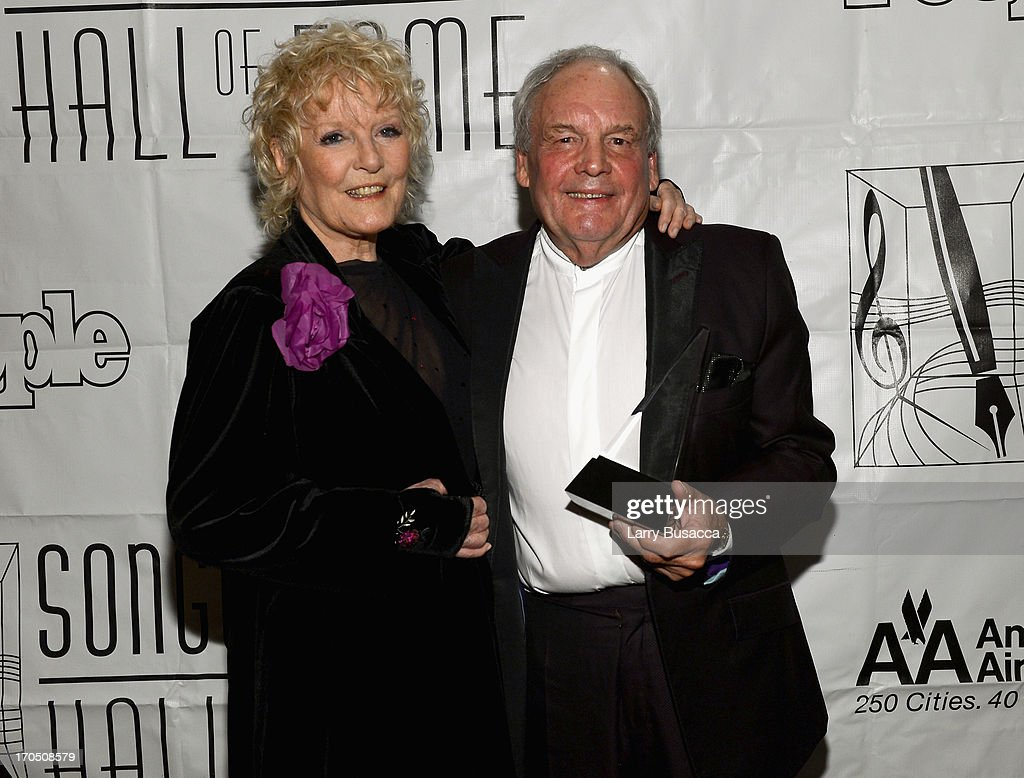 Petula Clark and Tony Hatch attend the Songwriters Hall of Fame 44th Annual Induction and Awards Dinner at the New York Marriott Marquis on June 13, 2013 in New York City.