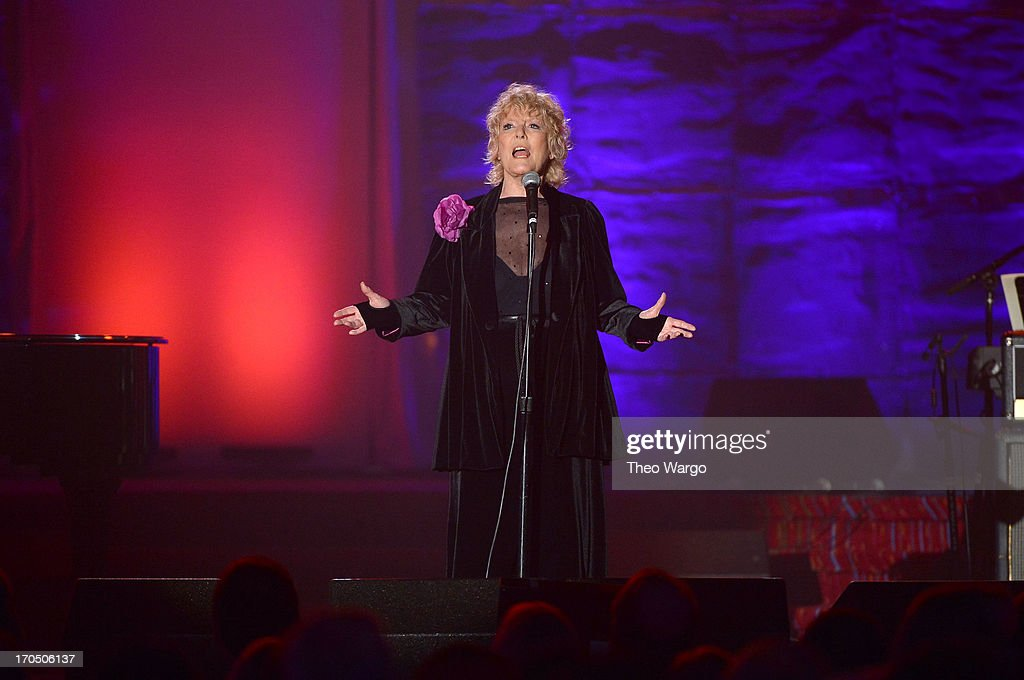 Petula Clark attends the Songwriters Hall of Fame 44th Annual Induction and Awards Dinner at the New York Marriott Marquis on June 13, 2013 in New York City.