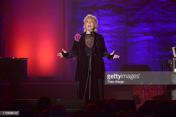 Petula Clark attends the Songwriters Hall of Fame 44th Annual Induction and Awards Dinner at the New York Marriott Marquis on June 13 2013 in New...