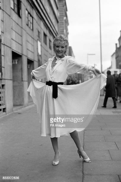 Petula Clark who would play Maria Von Trapp in the stage production of 'The Sound of Music' which opened at the Victoria Apollo Theatre London in 1981