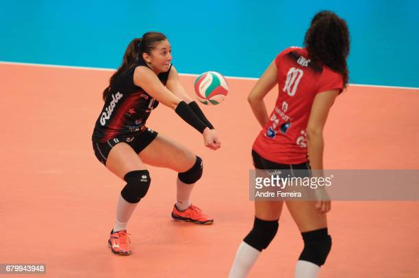 Petya Barakova of Le Cannet during the Ligue A Final between ASPTT Mulhouse and Le Cannet at Salle Pierre Coubertin on May 6 2017 in Paris France