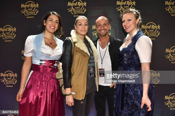 Peyman Amin and guests during the 15th anniversary celebration of the Hard Rock Cafe Munich on February 23 2017 in Munich Germany