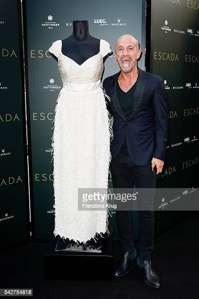 Peyman Amin attends the ESCADA Flagship Store Opening on June 23 2016 in Duesseldorf Germany