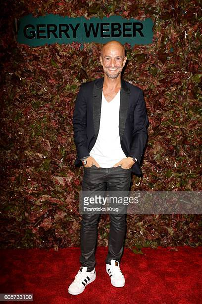 Peyman Amin attends the Gerry Weber shop opening on September 14 2016 in Munich Germany