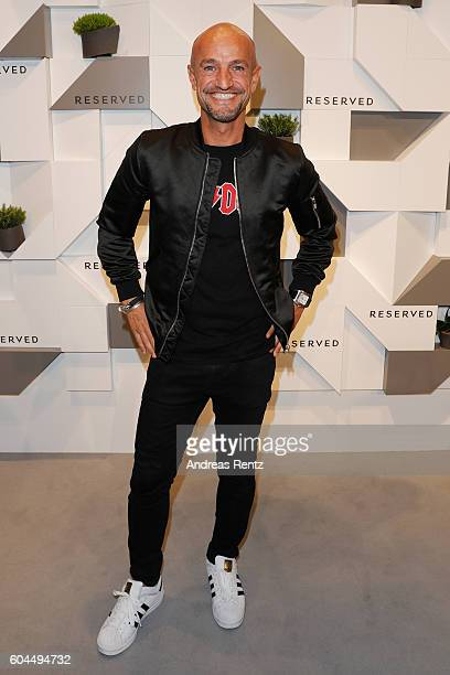 Peyman Amin attends the RESERVED VIP store opening on September 13 2016 in Munich Germany
