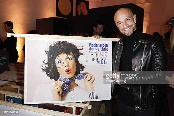 Peyman Amin attends the Rodenstock Exhibition Opening Event at Museum of Urban and Contemporary Art in Munich on January 28 2017 in Munich Germany