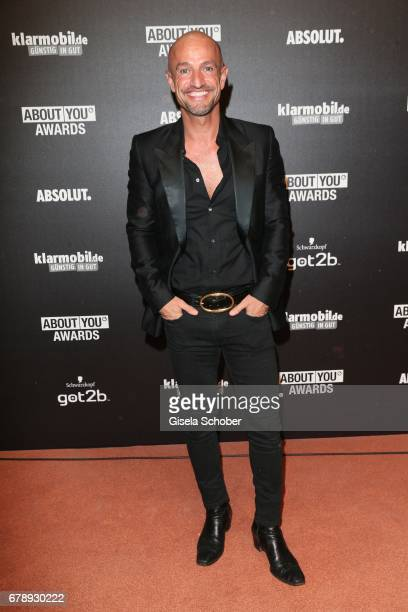 Peyman Amin during the ABOUT YOU AWARDS at the 'Mehr Theater' in Hamburg on May 4 2017 in Hamburg Germany