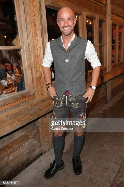 Peyman Amin during the Oktoberfest at Kaefer tent Theresienwiese on September 24 2017 in Munich Germany