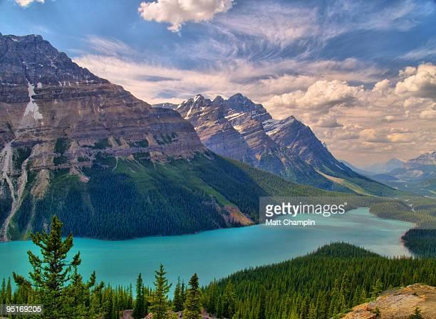 Peyto Lake in the Rockies