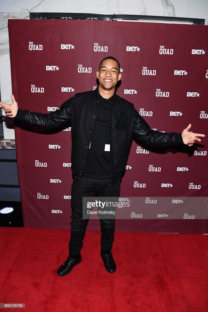 """BET Presents The Premiere Screening Of """"The Quad"""" - Arrivals"""
