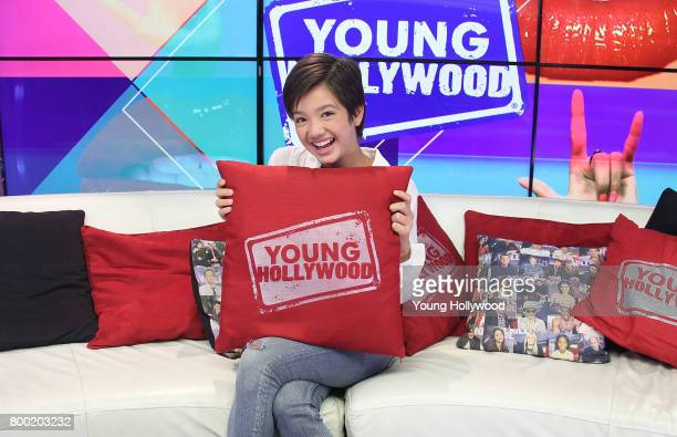 Peyton Elizabeth Lee visits the Young Hollywood Studio on June 23 2017 in Los Angeles California