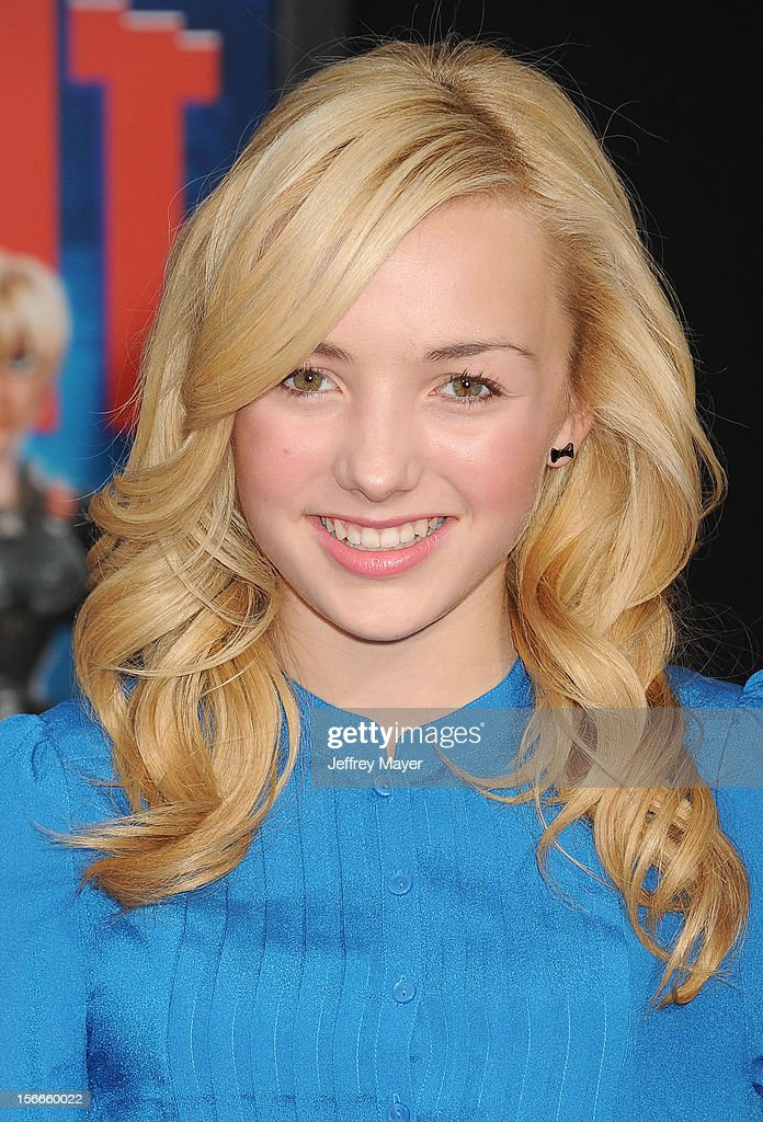 Peyton List arrives at the Los Angeles premiere of 'Wreck-It Ralph' at the El Capitan Theatre on October 29, 2012 in Hollywood, California.