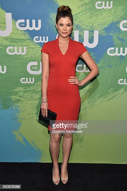 Peyton List attends the CW Network's 2016 New York Upfront Presentation at The London Hotel on May 19 2016 in New York City