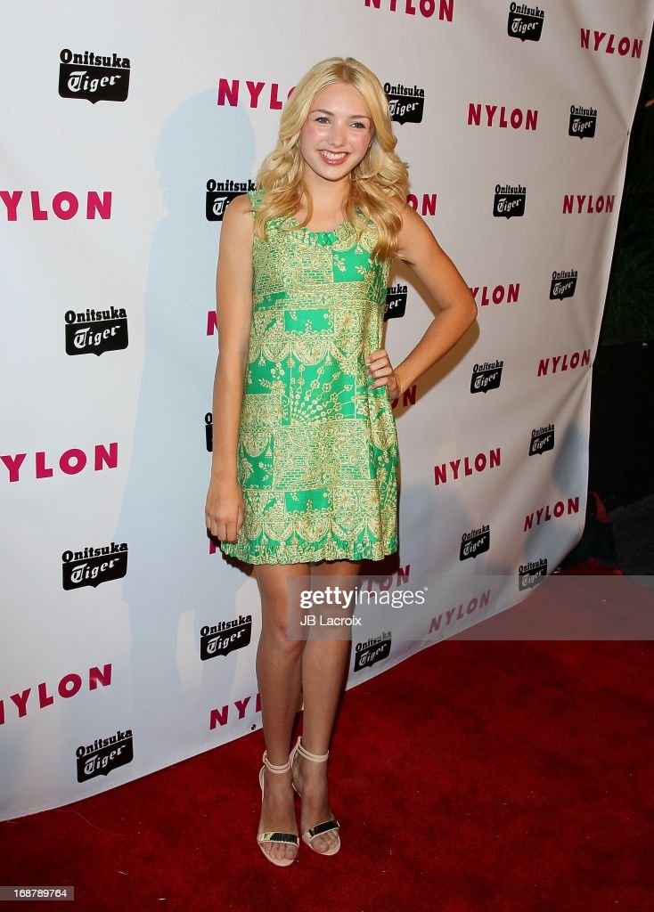Peyton List attends the NYLON Magazine Annual May Young Hollywood Issue Party at The Roosevelt Hotel on May 14, 2013 in Hollywood, California.