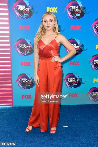 Peyton List attends the Teen Choice Awards 2017 at Galen Center on August 13 2017 in Los Angeles California