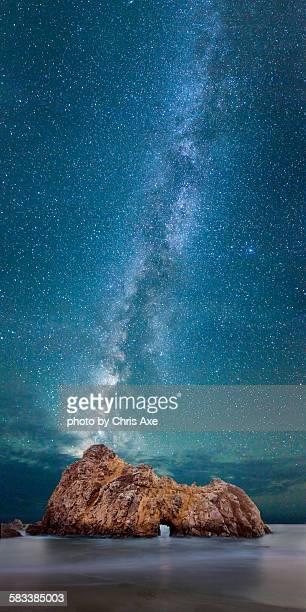 Pfeiffer beach at Midnight - Big Sur, CA