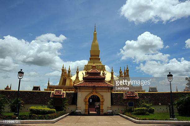 Pha That Luang's Entrance