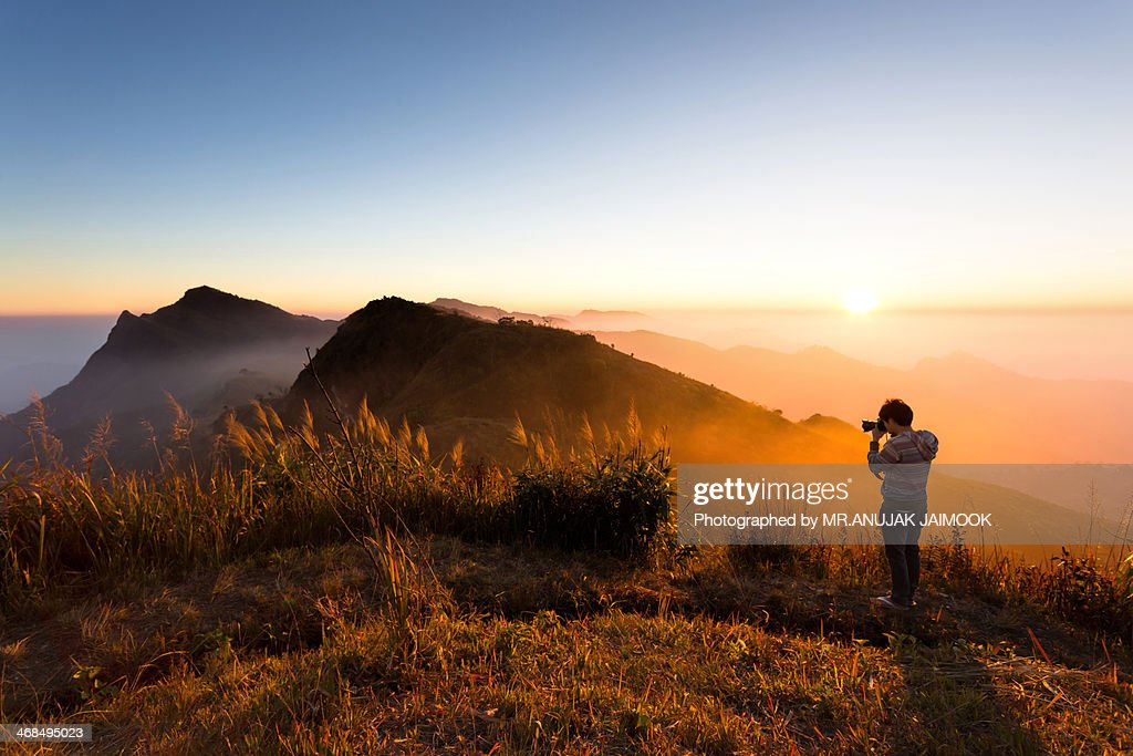 Pha Tung Mountain at Chiang Rai, Thailand