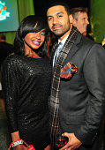 Phaedra Parks and Apollo Nida attends Ted Turner's Captain Planet Cartoon 20th Birthday benefit at the Georgia Aquarium on December 10 2010 in...