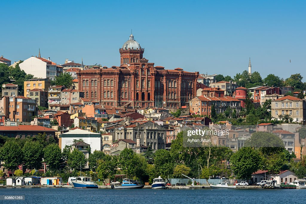 Phanar Greek Orthodox College  from Golden Horn