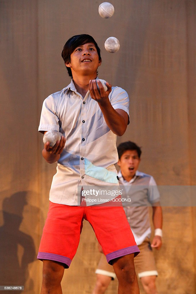 Phare Ponleu Selpak Cambodian Circus Stock Photo  Getty ...