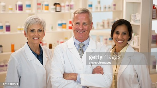 Pharmacist : Stock Photo