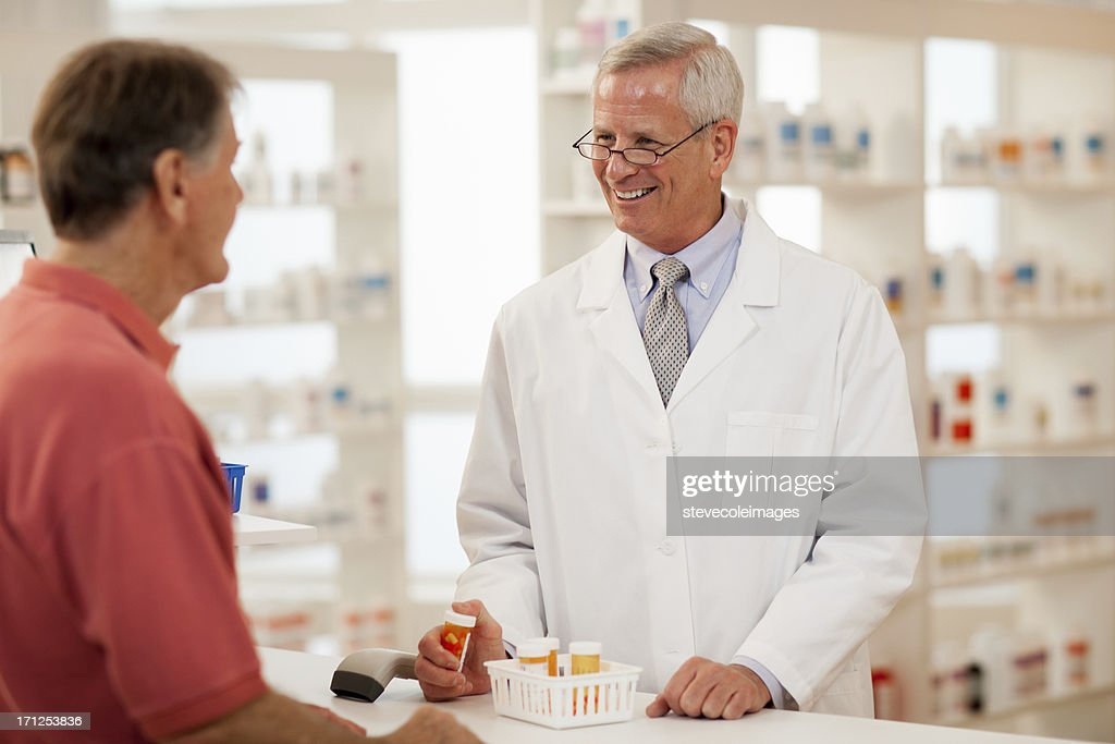 Pharmacist : Stock Photo