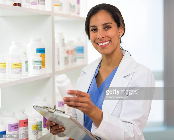 Pharmacist with Clipboard