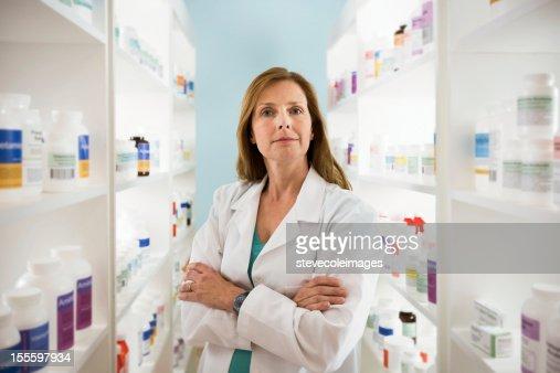 Pharmacists : Stock Photo