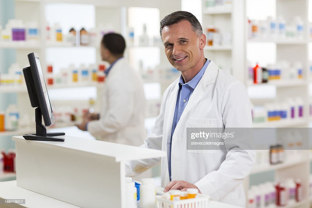 Pharmacists : Stock Photo