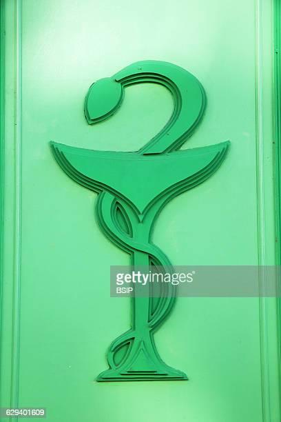 Pharmacist's sign