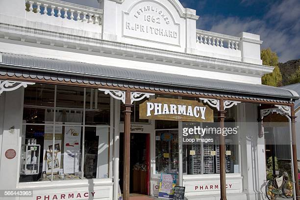 Pharmacy in the New Zealand town of Arrowtown
