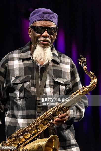 Pharoah Sanders performs on stage at Ahoy on July 10 2016 in Rotterdam Netherlands