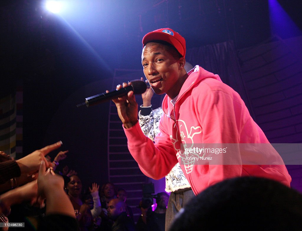 Pharrell during Jay Z Performs on 106 & Park with Nas, Pharrell and Timbaland - November 8, 2006 at BET Studios in New York City, New York, United States.