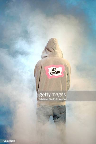 Pharrell performs 'Can I Have it Like That' during 33rd Annual American Music Awards Show at Shrine Auditorium in Los Angeles California United States